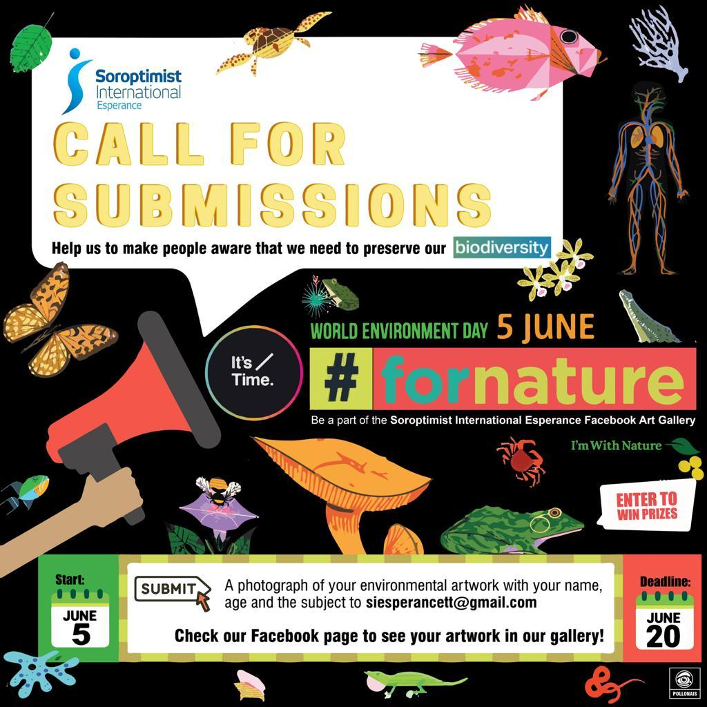 Call for Submissions for #ForNature Art Gallery
