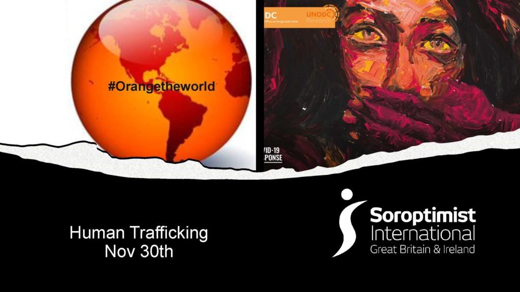 16 days of activism - November 30: human trafficking