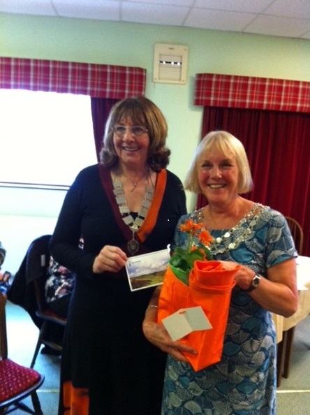 President Janice with  Margaret Clark, Regional President of SI Northern England.