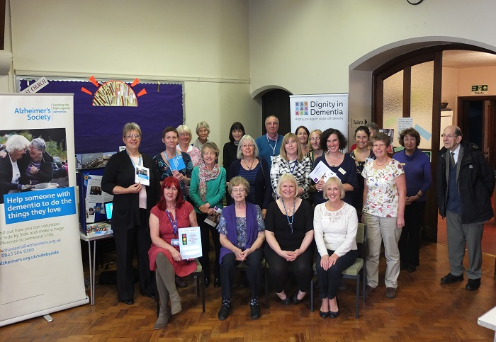 Soroptimists and participants at Open Day