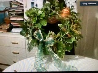 Illustrate Christmas Wreath