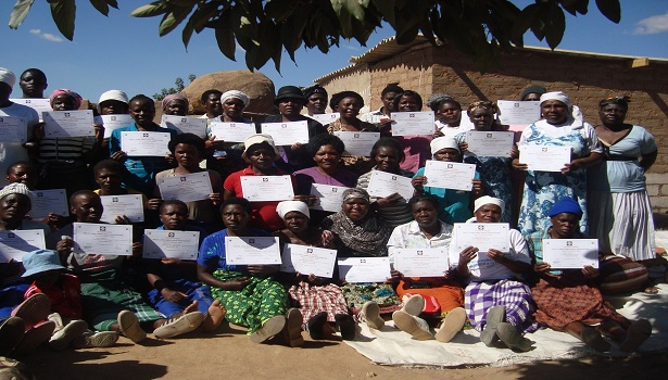 Tradition Birth Attendance after receiving their first aid certificates