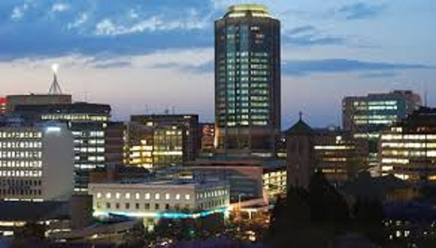 Harare in evening