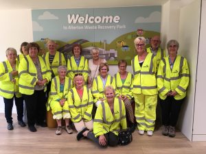 Club members Visiting Allerton Waste Recovery Park