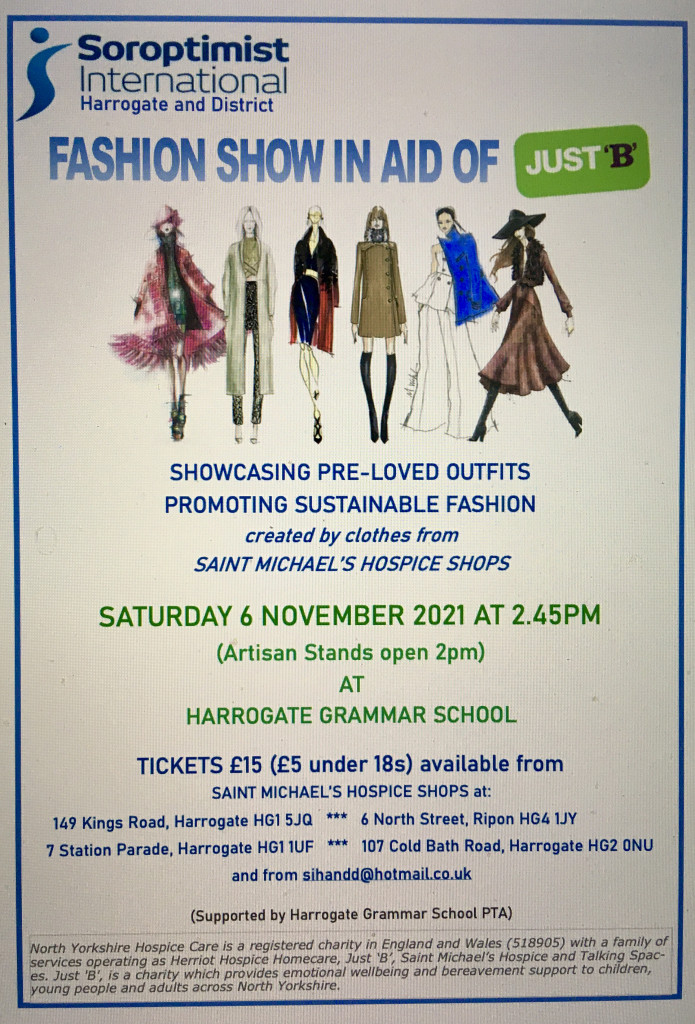Flyer for Fashion Show