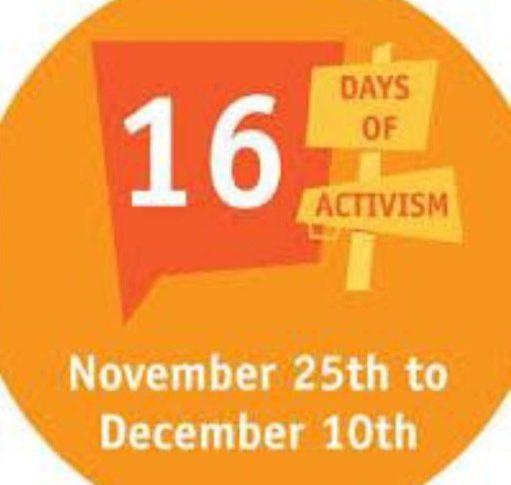 16 days of activism 2020