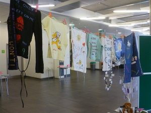 Washing Line Art Project