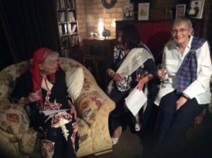 A Group of Women dressed in international dress for International Women's Day