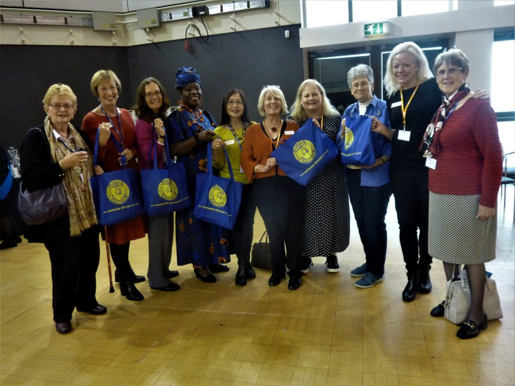 Members of Lichfield Club with friendship links - Conference 2019