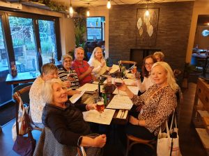 Friendship - SIGBI Conference 2019 Lichfield delegates eating again!