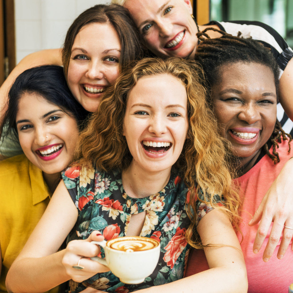 Membership is the heart of our Club - photo of happy women