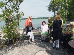 Soroptimist bench in Herrsching
