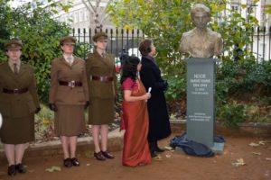 Noor Inayat Khan statue unveiling