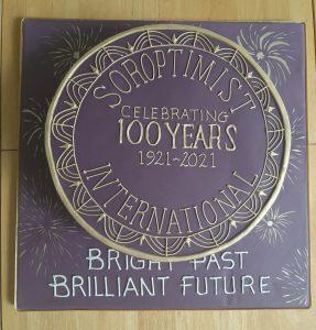 Soroptimist London Chilterns Centenary Cake