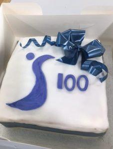 SI Milton Keynes 100 Cake