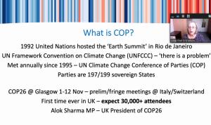 Linda Shall COP26 SILC 9 Oct
