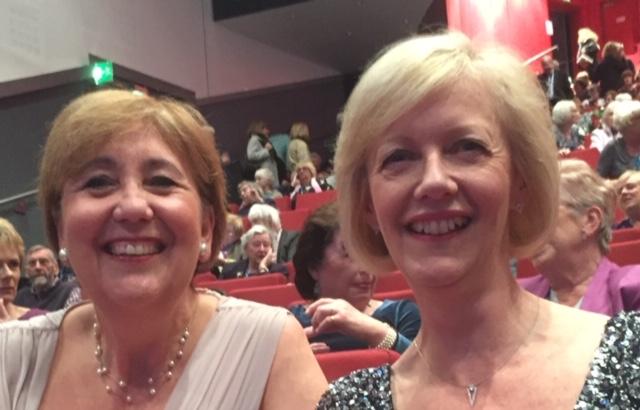 Jane and Carol as Incoming Regional Presidents