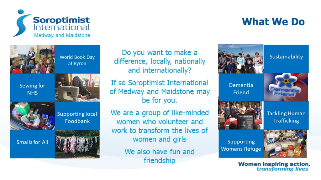 Leaflet titled 'What We Do'