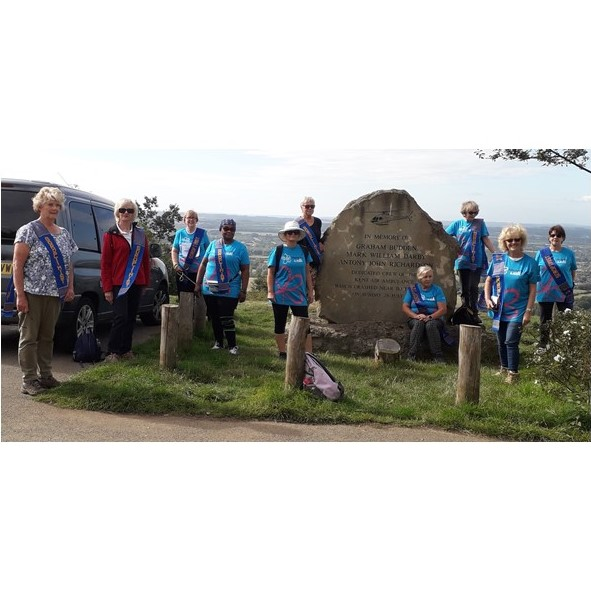 Medway and Maidstone Soroptimists on Memory Walk 6 September 2020