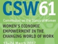 All the latest news from CSW61 – 13-24 March 2017