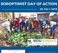 Soroptimist Day of Action – 20 July 2019
