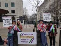 Soroptimists Celebrating Votes for Women