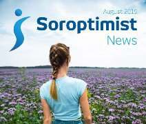 August 2019 Soroptimist News now available
