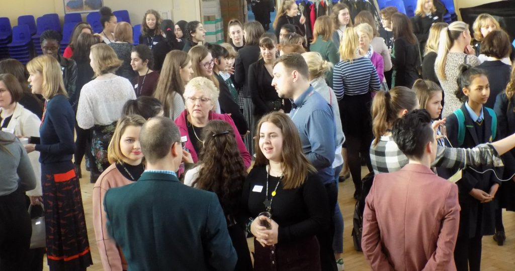 St Albans Soroptimists attended the St Albans Girls' School Inspiring Women Careers Event