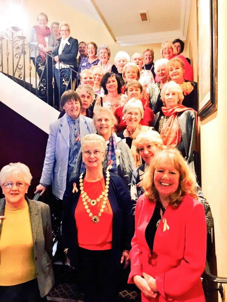 Yorkshire Soroptimists supporting White Ribbon Day and 16 Days