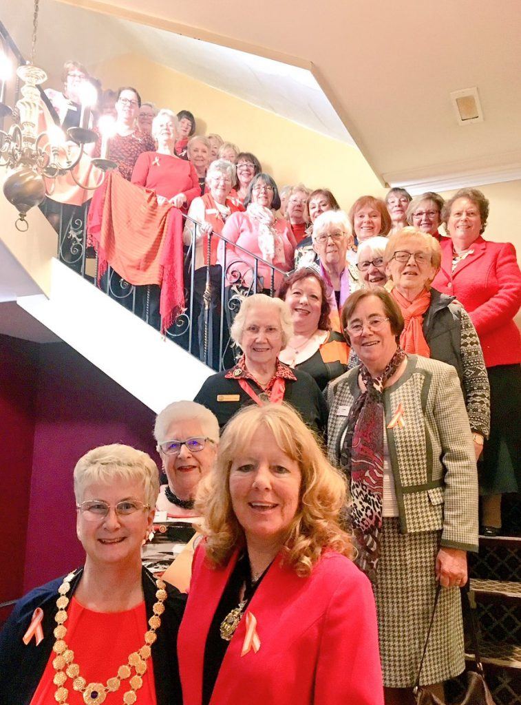 Yorkshire Soroptimists supporting White Ribbon and 16 Days