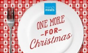 One more for Christmas – Mary's Meals Christmas Appeal