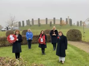 Photo of Soroptimists from the Three Midlands Regions at The NMA 8th November 2020