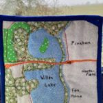 Willen Lake Quilt patch