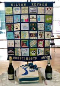 Soroptimists MK Centenary Quilt