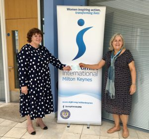 SI MK Cheque presentation June 21 to MK Community Foundation Womens Fund