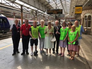 Supporting Samaritans at Crewe Station