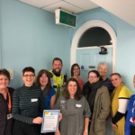 Group of people from organisations supporting people with dementia