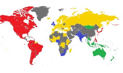 Soroptimist International - world map