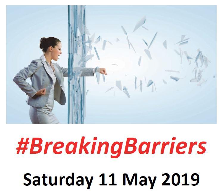 #BreakingBarriers logo