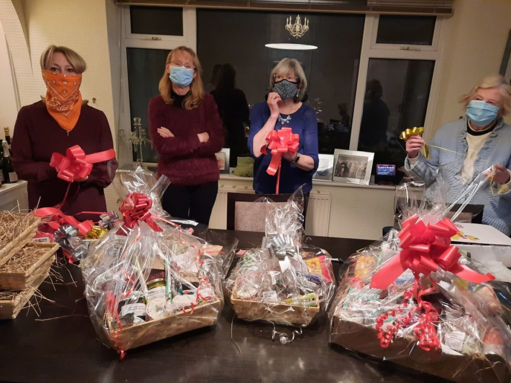 Fylde Soroptimists have been selling Christmas hampers full of homemade and locally sourced products to raise much needed funds for their charities including Fylde Coast Women's Aid and Mary's Meals