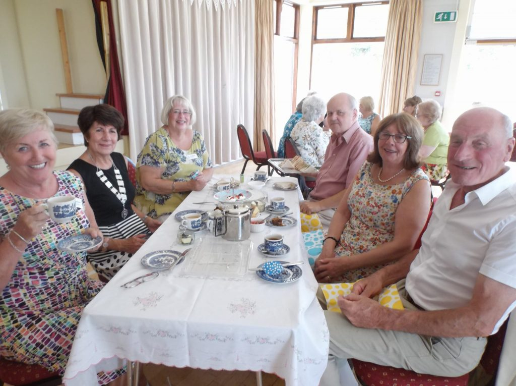 SI Stockton Charity Afternoon Tea at Worsall 5 August 2018 in aid of Great North Ambulance & Butterwick Hospice, entertainment by Ingleby Barwick Community Choir
