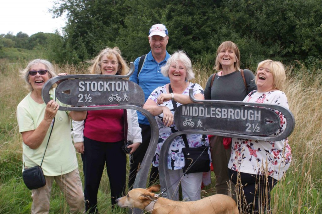 SI Middlesbrough Guided walk along the River Tees Barrage 19 August 2018