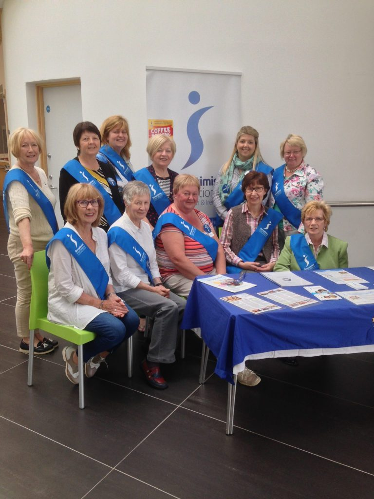 Coffee Morning Membership drive -Queens Cancer research fund raiser