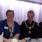 President Marian Sapcote and Provost Anne Hall