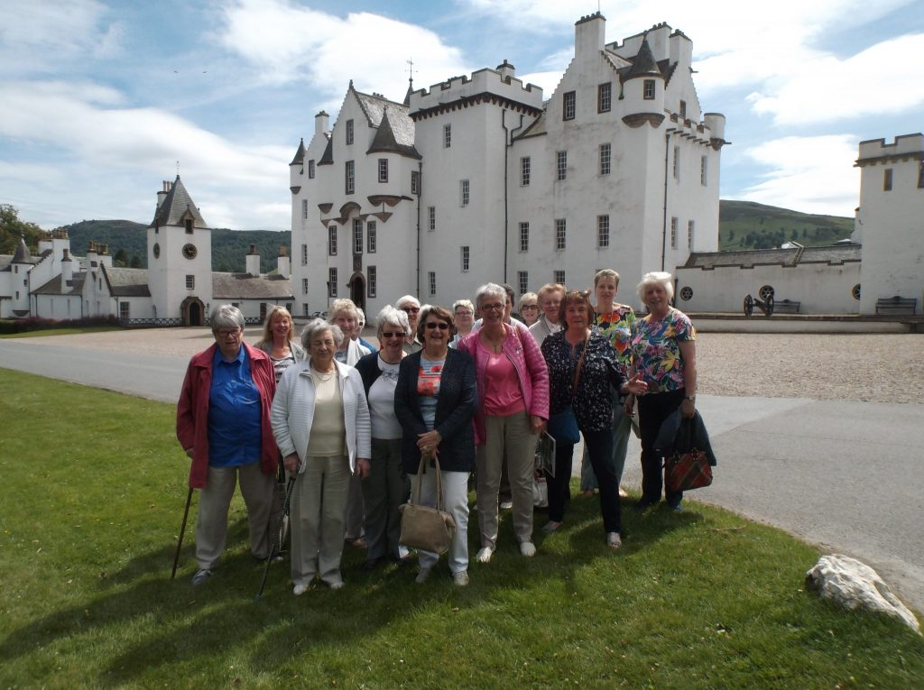 Summer outing, Blair Castle