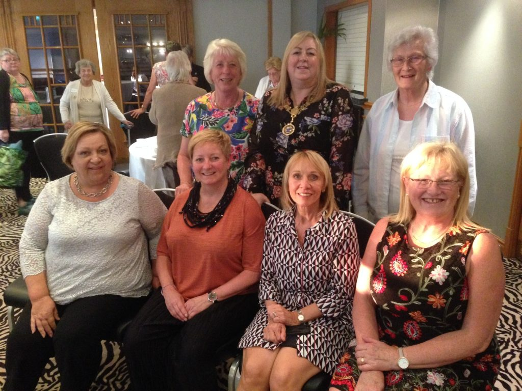 KAIROS - Renfrewshire Women's Centre. Provost Lorraine Cameron, Susan and Fiona and members