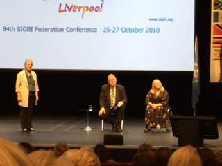 Inspirational speakers - Terry Waite and Emily Rose Yates, Liverpool Conference