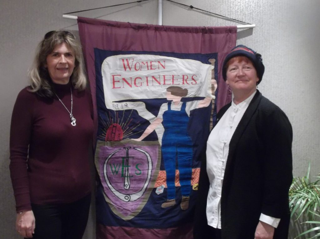 President Elect Carol and Nina Baker, Women's Engineering Society