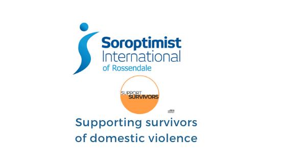 We support survivors of domestic violence