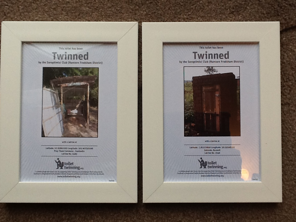 More toilets twinned - that makes four!